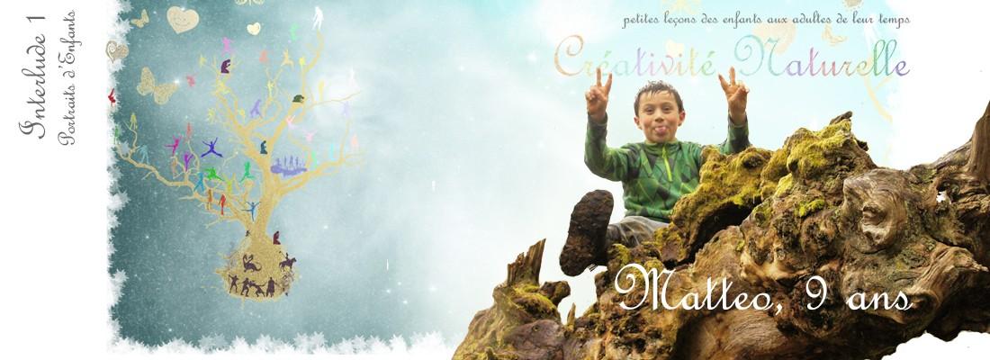 Portraits d'Enfants - Matteo sur un dragon perché