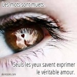 yeux amour