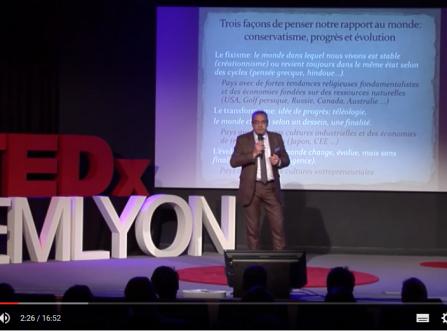 TedxTalk : Le progrès est mort, vive l'évolution !